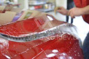 Фото оклейки кузова Mazda СХ-5 защитной пленкой - 3
