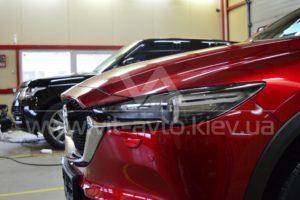 Фото оклейки кузова Mazda СХ-5 защитной пленкой - 5