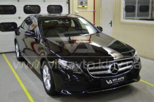 Фото антишравийной пленки на Mercedes-Benz C-Class - 1