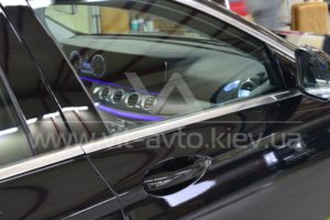 Фото антишравийной пленки на Mercedes-Benz C-Class - 2
