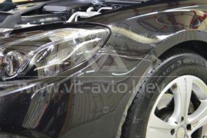 Фото антишравийной пленки на Mercedes-Benz C-Class - 4