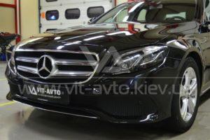 Фото антишравийной пленки на Mercedes-Benz C-Class - 8