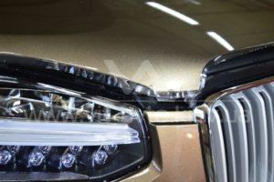 Фото защиты кузова Volvo XC90 пленкой - 2