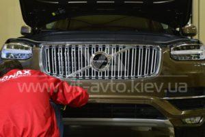 Фото защиты кузова Volvo XC90 пленкой - 5
