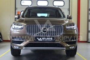 Фото защиты кузова Volvo XC90 пленкой - 9