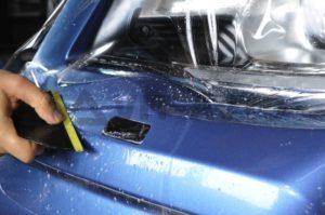 Антигравийная защита кузова Subaru_Forester фото 5
